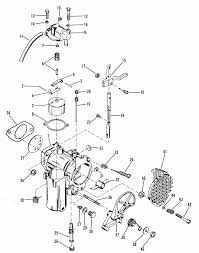 carburetor assembly for mercury 35 hp engine
