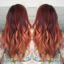 balayage hair que es 18 ideas de pelo rojo llamativo ombre ombre balayage and red hair