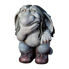 shop design toscano pondering sylvester the cynical troll 10 5 in