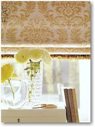Flat Roman Shades - blind alley hunter douglas design studio roman shades portfolio
