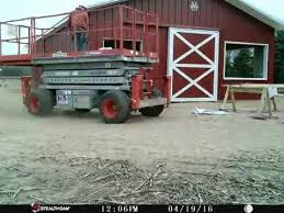 Red Barn Trailers Harvest Moon Acres Big Red Barn Building Time Lapse Youtube