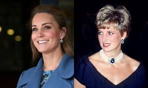 kate middleton s earrings kate middleton shows princess diana s sapphire earrings