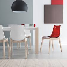 Calligaris Jam Dining Chair Led W Chair By Connubia Calligaris The Wooden Legs Come In A