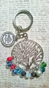 personalized birthstone keychains personalized family tree birthstone keychain for grandmother