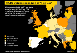 target black friday map 2016 nato spending in two charts 2016 edition defense one