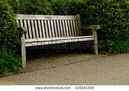 old wooden park bench stock photo 54248386 shutterstock