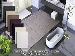 designer bathroom rugs the sims resource tsr eight modern designer bathroom rugs by