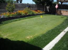 Backyard Putting Green Designs by Simple Ideas Homemade Putting Green Excellent 1000 Ideas About