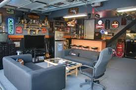 Man Cave Ideas For Small Spaces - man cave small room ideas black leather home theater sofa
