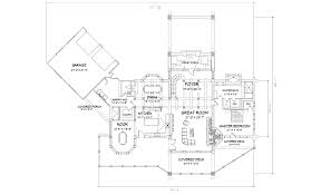 log home floor plans with garage big sky luxury log home plan