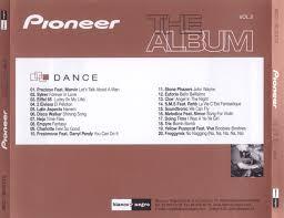 pioneer album carátula trasera de pioneer the album volumen 2 portada