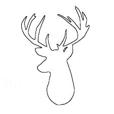 deer head template exol gbabogados co