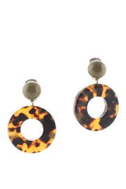 angela caputi earrings nwt angela caputi dangling resin earrings clip on in original