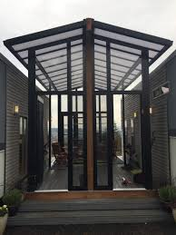 two house two 24 tiny houses connected by sunroom