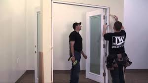 how to install a french door youtube