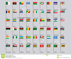 Flags Of African Countries African Countries Flags Stock Vector Image Of African 27675157