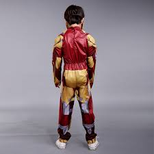 Iron Man Halloween Costume Toddler Masks Sculpture Picture Detailed Picture Kids Iron