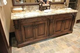 Rustic Bathroom Flooring Some Great Rustic Bathroom Vanities Ideas To Bring The Freshness