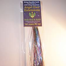 angel hair extensions buy rainbow sparkle angel hair 100 strands from 7 99