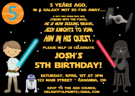 How To Make Your Own Invitation Cards Star Wars Birthday Invitations Cloveranddot Com