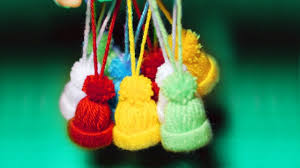 knitted toy hats diy christmas tree decorations youtube