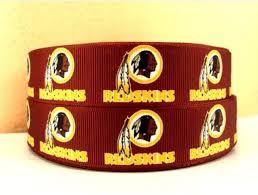 football ribbon 19 best washington redskins nfl ribbons images on