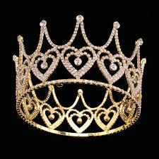 high end tiara austrian rhinestone crown luxurious