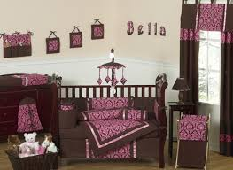 Brown And Pink Crib Bedding Brown And Pink Baby Bedding 9 Pc Crib Set Only 69 99