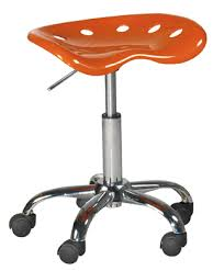 le de bureau orange coin repas chaises tabouret de bureau orange le magasin