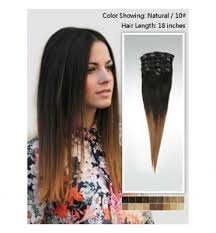 hair clip extensions high quality ombre hair clip in hair extensions