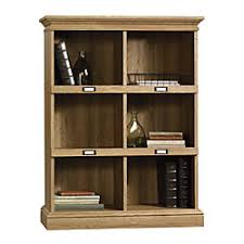 Office Depot Bookcases Wood Sauder Barrister Bookcase Oak By Office Depot U0026 Officemax
