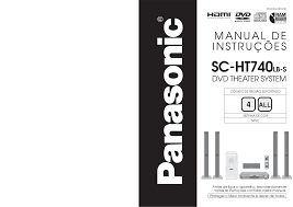 home theater panasonic download free pdf for panasonic sc ht740 home theater manual