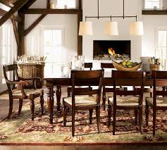 dining room area rug dark brown wrought iron dining room sets mixed potted plant igf usa