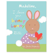easter bunny book i you honey bunny personalized story book lillian vernon