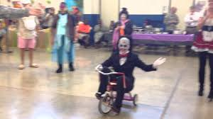 Saw Costume Billy The Puppet Saw Wins Best Costume 2013 Youtube