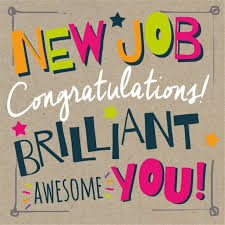 Congrats On New Job Card Congratulations For New Job