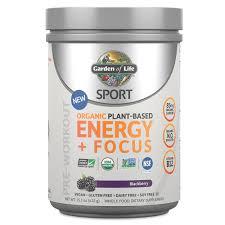amazon com garden life sport organic plant based protein