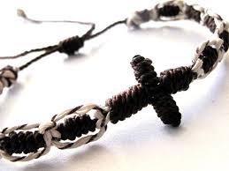 religious bracelet 17 best macrame knotted religious bracelets images on