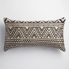 Kilim Indoor Outdoor Rug Black And Taupe Kilim Indoor Outdoor Lumbar Pillow Taupe Indoor