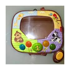 baby car mirror with light find more brica fisher price baby car mirror with lights music and