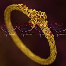 gold plated bracelet chain images B12231 one gram twisted chain design traditional jewellery screw JPG
