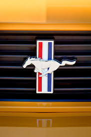 mustang grill emblems 2012 ford mustang 302 grille emblem photograph by reger