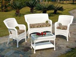 Replacement Cushions Patio Furniture by Patio Rattan Outdoor Furniture Cushions Set Of 2 Deco