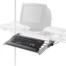 Wire Shelving Desk Wire Keyboard Drawer For Wire Shelving Pull Out Keyboard Tray