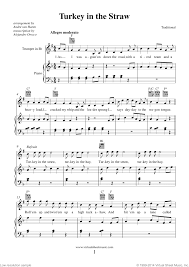 thanksgiving collection sheet for trumpet and piano