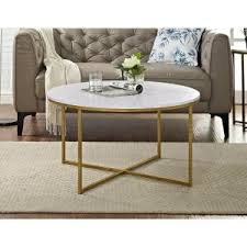 marble gold coffee table walker edison furniture company 36 in marble gold coffee table with
