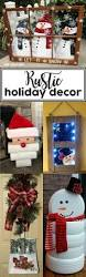 Holiday Decor Diy Rustic Holiday Decor Smart House
