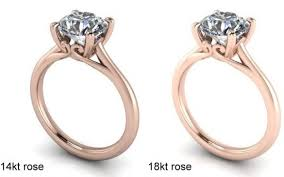 Rose Wedding Ring by What U0027s The Best Engagement Ring Metal In Comparison