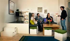 m bel f r wohnzimmer platzsparende möbel 25 ideen für kleine räume hausdekorationen