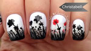 remembrance day nails youtube
